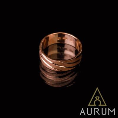 золотое кольцо - изготовление, фото