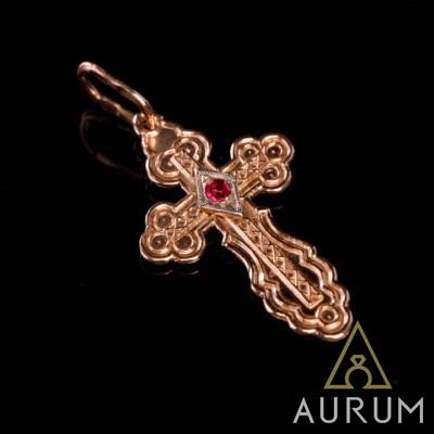 крест кулон, фото